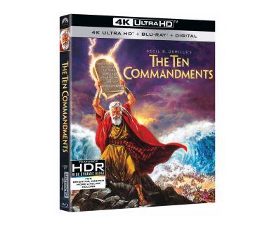 Les Dix Commandements en 4K Ultra HD Blu-ray : C'est officiel !