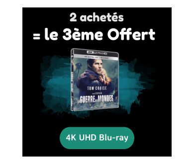 [FIN - OCTOBRE] 4K Ultra HD Blu-ray : 2 titres achetés = le 3ème offert