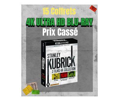 ENCORE DISPONIBLES : 15 Coffrets 4K Ultra HD Blu-ray à prix cassé !
