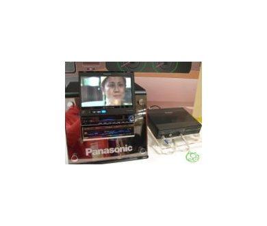 Panasonic développe une TVHD destinée à la voiture !
