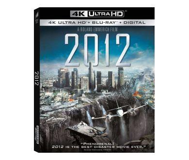 2012 de Roland Emmerich en 4K Ultra HD Blu-ray le 19 janvier 2021