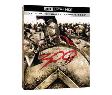 MAJ : 300 de Zack Snyder en octobre en 4K Ultra HD Blu-ray