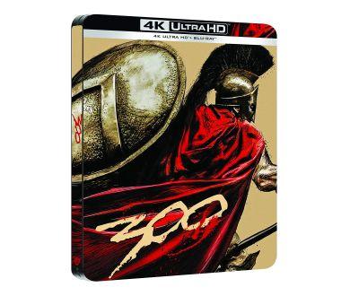 300 : Précommandes de l'édition SteelBook 4K Ultra HD Blu-ray (le 7.10)