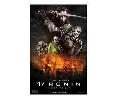 47 Ronin : En avril 2020 en 4K Ultra HD Blu-ray en France