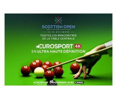 Canal+ : Le Scottish Open 2018 à suivre en 4K Ultra HD cette semaine