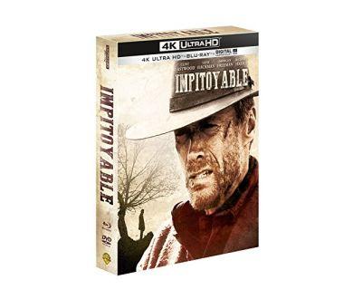 Impitoyable de Clint Eastwood en Steelbook 4K Ultra HD Blu-ray le 7 juillet