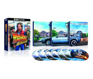 Retour vers le Futur en France : 3 Coffrets 4K Ultra HD Blu-ray sortiront le 21 octobre