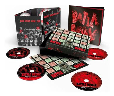 MAJ : Battle Royale (2000) en Coffret Ultimate 4K Ultra HD Blu-ray en France fin novembre