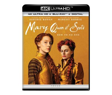 Marie Stuart, Reine d'Écosse officialisé aux USA en 4K Ultra HD Blu-ray