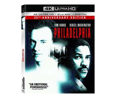 Philadelphia (1993) : Le 25 novembre en 4K Ultra HD Blu-ray (25ème anniversaire)