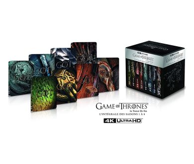 MAJ : Intégrale Game of Thrones : Précommandes du coffret Steelbook 4K Ultra HD Blu-ray
