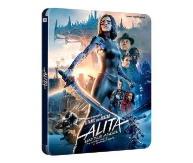 Alita : Battle Angel : Une édition limitée Steelbook 4K Blu-ray + 3D en précommande