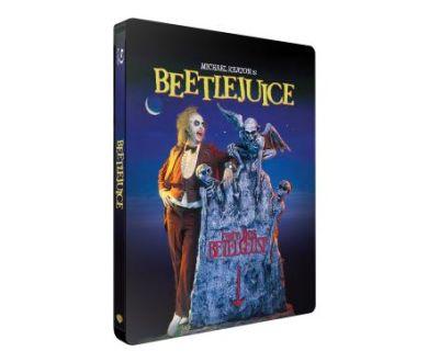 Vendredi 13, l'Exorciste, Vampires de Salem et Beetlejuice en Steelbook Blu-ray en octobre