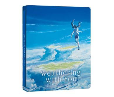 Les Enfants du temps de Makoto Shinkai : le 7 octobre en Steelbook Blu-ray