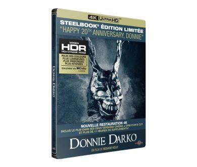 Donnie Darko en Steelbook 4K Ultra HD Blu-ray chez Carlotta le 27 octobre