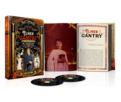 Elmer Gantry de Richard Brooks : Edition Blu-ray + Livret le 4 décembre prochain