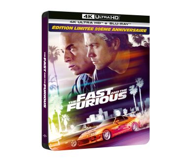MAJ : Fast and Furious (2001) en 4K Ultra HD Blu-ray Steelbook le 19 mai en France