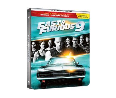 MAJ : Fast and Furious 9 : Tous les détails de l'édition Steelbook 4K Ultra HD Blu-ray