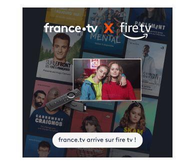 L'offre france.tv débarque sur Amazon Fire TV