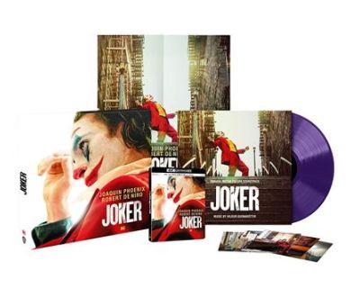 MAJ : Joker de Todd Phillips en édition Collector 4K Blu-ray + Vinyle le 21 octobre