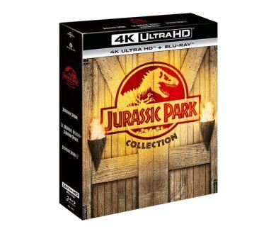 Trilogie Jurassic Park : Un nouveau coffret 4K Ultra HD Blu-ray le 29 septembre en France