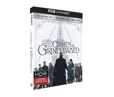 Les Animaux Fantastiques : Les Crimes de Grindelwald en 4K Blu-ray : Dolby Atmos et Dolby Vision confirmés