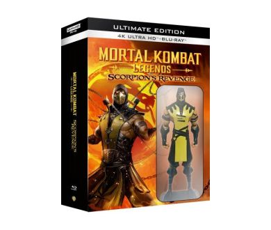 Mortal Kombat Legends : Scorpion's Revenge en Ultimate Edition 4K avec figurine