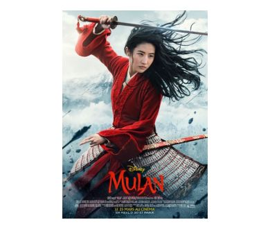 Mulan (2020) sortira directement sur Disney+ aux USA
