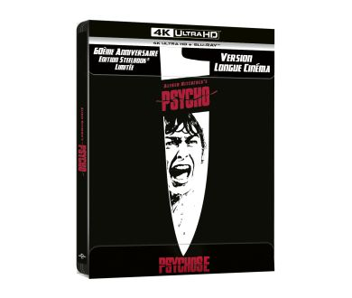 MAJ : Psychose d'Alfred Hitchcock : Tous les détails de l'édition 4K Ultra HD Blu-ray
