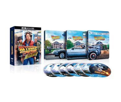 MAJ Préco : Retour vers le Futur en France : 3 Coffrets 4K Ultra HD Blu-ray sortiront le 21 octobre