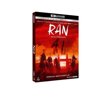 Ran (1985) d'Akira Kurosawa en juillet en 4K Ultra HD Blu-ray chez Studiocanal