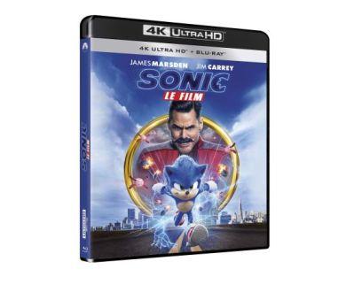 Sonic le Film en 4K Ultra HD Blu-ray : Tous les détails de l'édition française