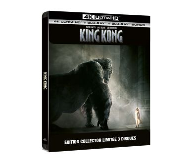 Jeu-Concours : King Kong (2005) - Une édition Collector 4K Ultra HD Blu-ray  à remporter