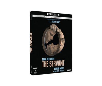 The Servant (1963) : Restauration 4K et officialisation de l'édition 4K Ultra HD Blu-ray
