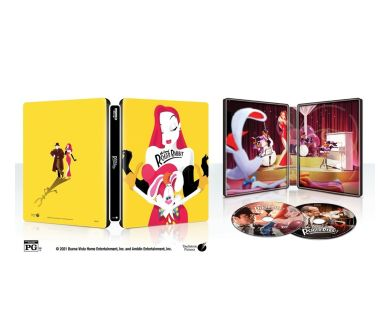MAJ : Qui veut la peau de Roger Rabbit ? En précommande Steelbook 4K Blu-ray en France !