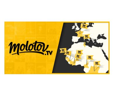 Molotov annonce son lancement à l'international
