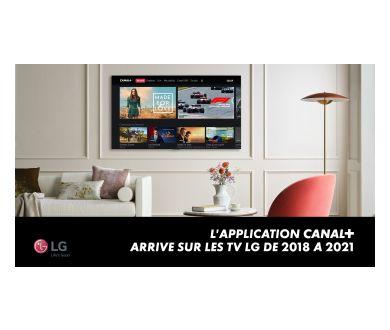 L'application Canal+ débarque sur les Smart TV LG (2018 et +)