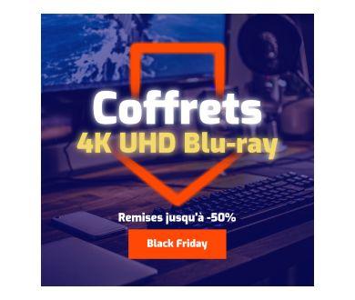 Black Friday 2020 : Des Coffrets 4K Ultra HD Blu-ray à prix bradé