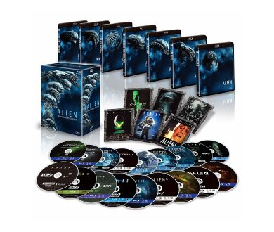 Un coffret 4K Alien 40th Anniversary Collection au Japon en avril