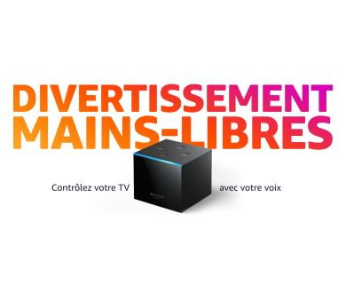 Amazon lance en France son Fire TV Cube compatible 4K, HDR10+ et Dolby Vision