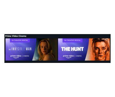 Le cinéma chez soi : Lancement d'une section Amazon Prime Cinema aux USA !