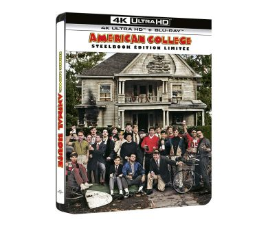 MAJ : American College (1978) de John Landis en 4K Ultra HD Blu-ray le 19 mai 2021