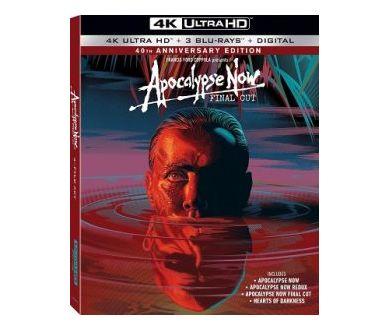 MAJ : Apocalypse Now (40ème anniversaire) en 4K Ultra HD Blu-ray le 27 août