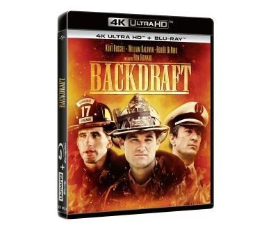 Backdraft de Ron Howard en 4K Ultra HD Blu-ray : Tous les détails