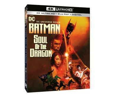 Batman : Soul of the Dragon en Blu-ray et 4K Ultra HD Blu-ray chez Warner