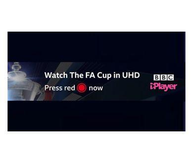 BBC iPlayer : La finale de la FA Cup en Ultra HD HDR (HLG) le 18 mai