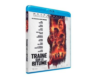 Traîné sur le Bitume avec Mel Gibson en Blu-ray chez Metropolitan