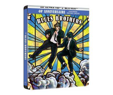 The Blues Brothers : Précommandes disponibles pour l'édition Steelbook 4K