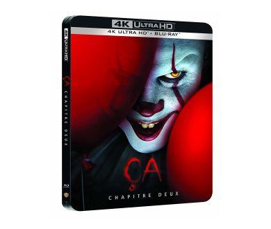 Ça Chapitre 1 et 2 réunis dans un nouveau Steelbook 4K Ultra HD Blu-ray en octobre