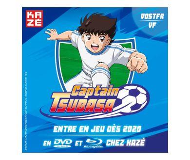 La série animée Captain Tsubasa en France en Blu-ray en 2020